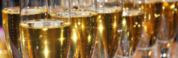 Champagne Region - Champagnes glasses