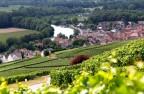 Beau point de vue sur la Marne à Hautvillers