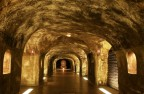 Impressive and mysterious cellar of Moêt & Chandon Champagne house